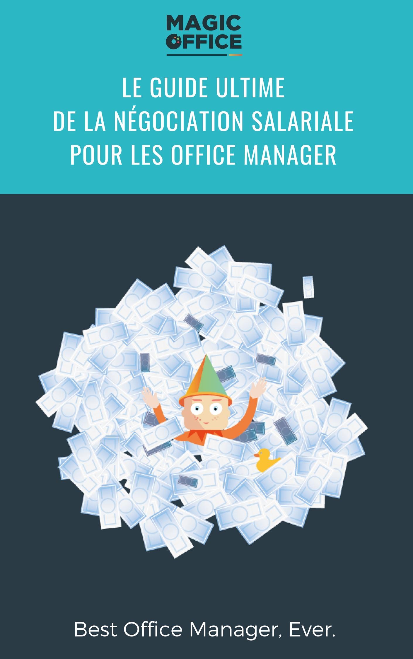 Le guide ULTIME de la négociation salariale pour les office manager