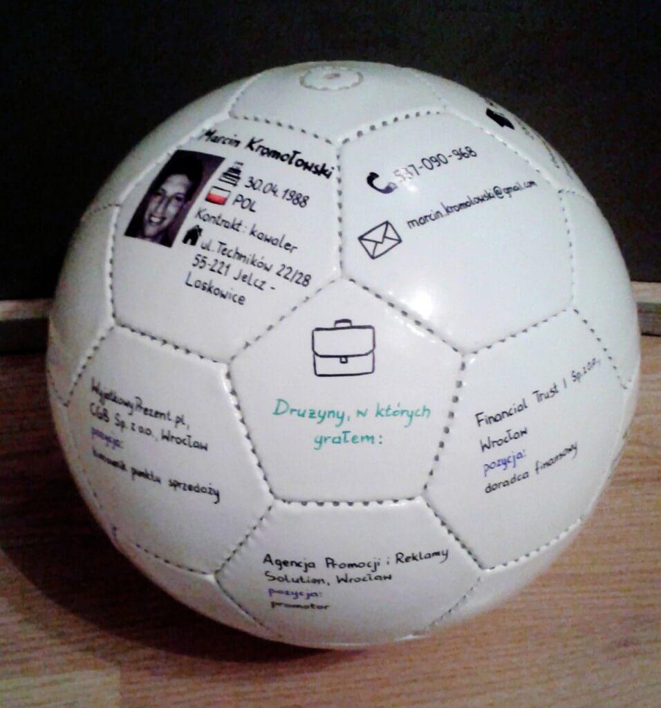 CV ballon foot