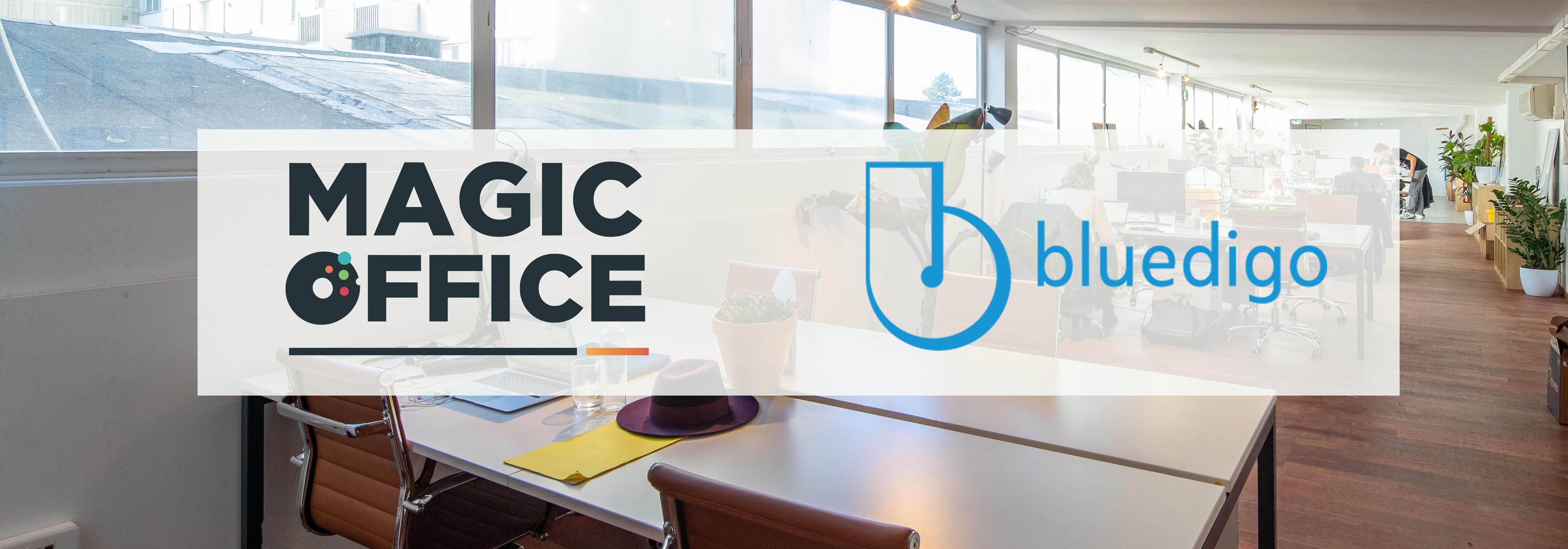 Visuel Magic Office Bluedigo